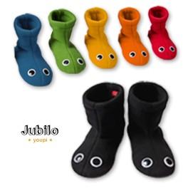Jubilo Chaussons Bottines yeux chaussette antiderapant