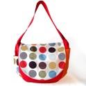 Jubilo sac à langer original pois multicolores